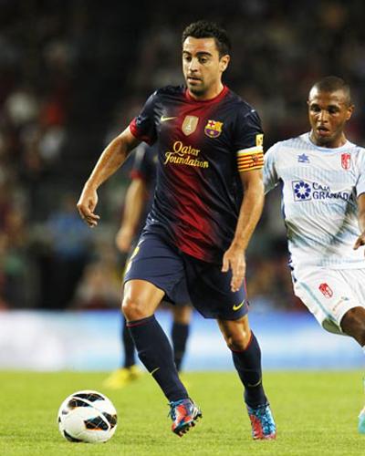 シャビが2016年まで契約延長へ「バルセロナは僕の人生」