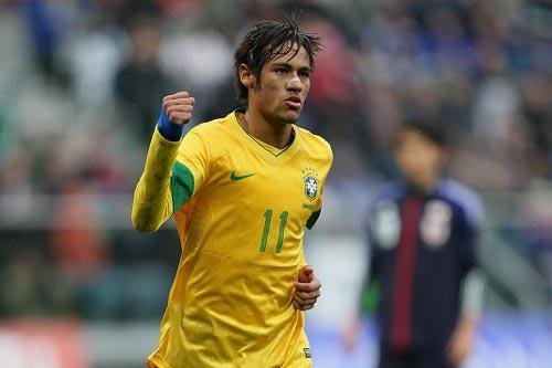 ブラジル代表FWネイマール、2年連続で南米年間最優秀選手に選出される