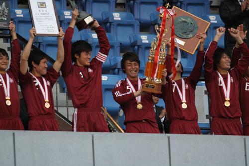 早稲田大が清武弟擁する福岡大を下し5年ぶり12回目のインカレ制覇