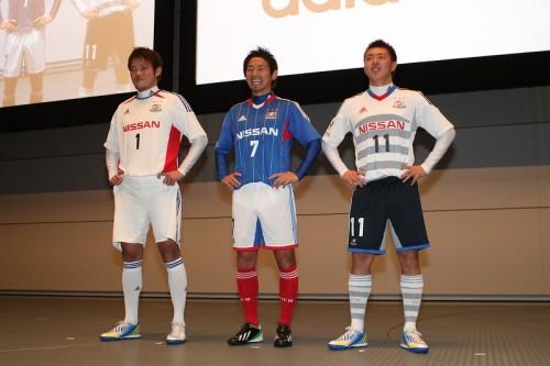 横浜FMが新体制発表会を開催、樋口監督「端戸と藤田で15、6点」を期待