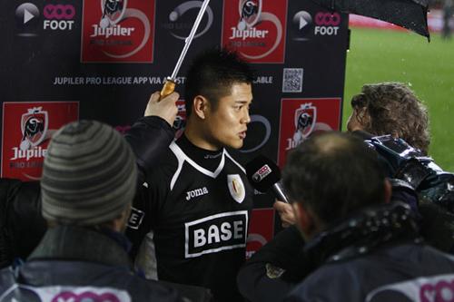 永井の加入会見で通訳を務めたGK川島「いないからやってくれと」
