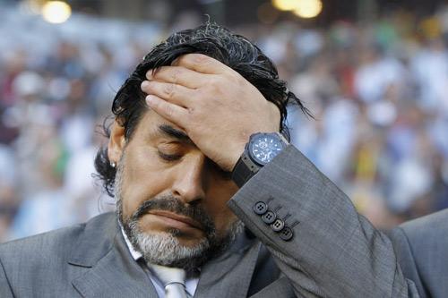 マラドーナ氏が仰天発言「もうサッカー界で働くことはない」