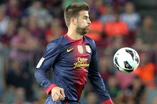 バルセロナのピケ「リーガ選抜とプレミア選抜の試合? 実現したら素晴らしいね」