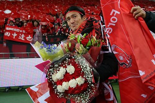 浦和の元日本代表FW田中達也が新潟へ移籍「全力を尽くしてがんばります」
