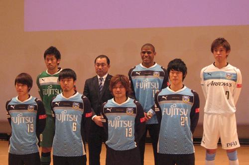 川崎に新加入の大久保らが新体制発表会に登場「優勝争いをしたい」