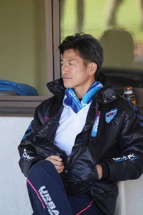 横浜FCが45歳のFW三浦知良と契約更新…昨季は14試合に出場