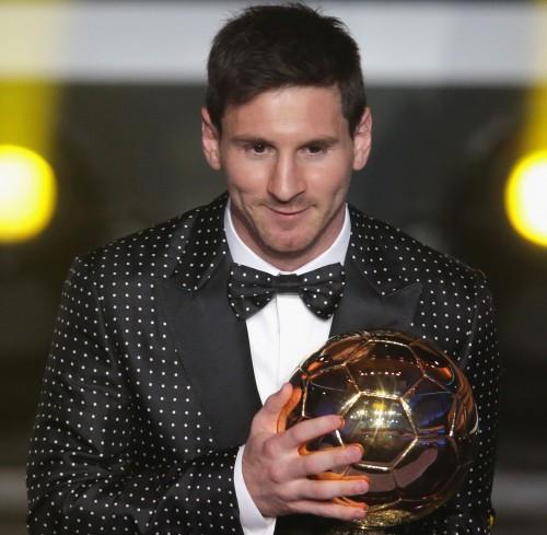 4年連続4度目のバロンドール受賞、メッシ「次の目標は、次の試合に勝つこと」