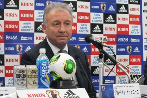 ラトビア戦に臨む日本代表ザック監督「海外組を重点的に招集した」