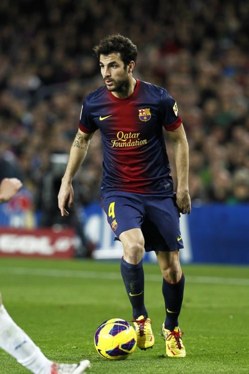 バルセロナを愛するセスク「このクラブで引退したい」