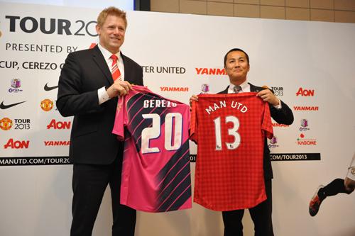 香川が古巣と対戦へ…マンUとC大阪が7月に親善試合で激突