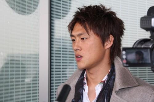 FC東京に移籍の李が帰国「もう一度、代表のユニフォームを着たい」