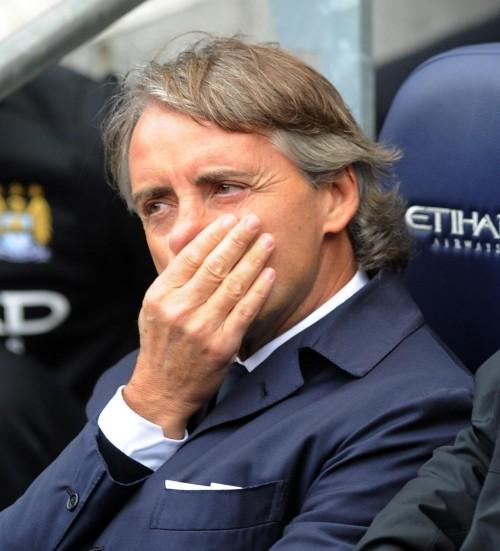 監督交代の噂に強気なマンチーニ「この15カ月、イングランドで最高の監督」