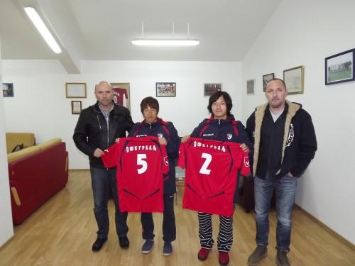 日本人2選手がモンテネグロ1部のFKグルバリへ移籍