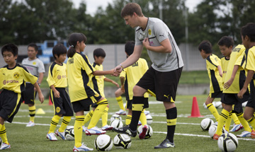 ドルトムント、今夏に日本で2度目のサッカークリニックを実施