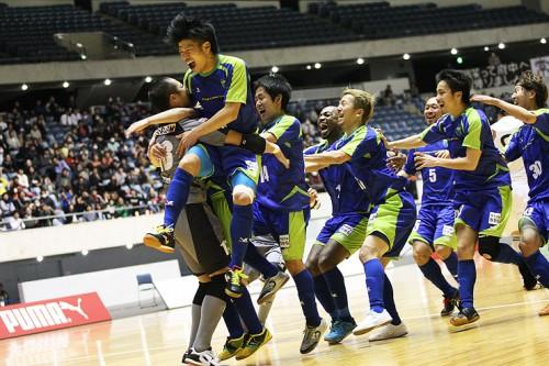 北海道、湘南、フウガ、名古屋が準決勝進出/PUMA CUP 2013