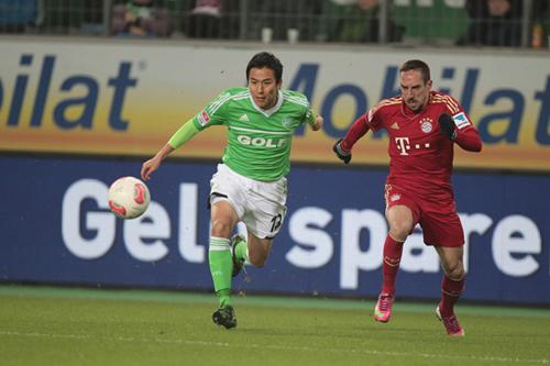 ドイツ杯準決勝で長谷部所属のヴォルフスはバイエルンと対戦へ