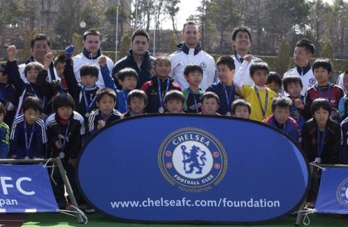 チェルシーFCスクールジャパン開校イベントが開催、アジアのスクールとしては4校目