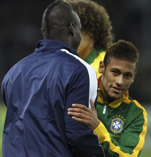 バロテッリを称賛するブラジル代表FWネイマール「彼の大ファン」