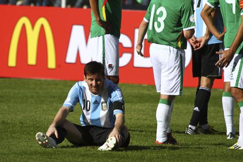 アルゼンチンはドロー…快勝のエクアドルが2位浮上/W杯予選