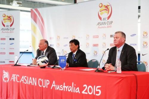 豪州開催のアジアカップ2015、開催地と日程が発表