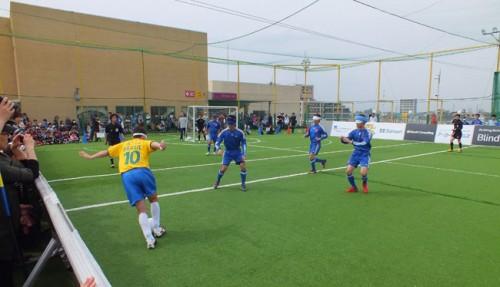 ブラサカ日本代表、王国ブラジルとの対戦で得た手応えと課題