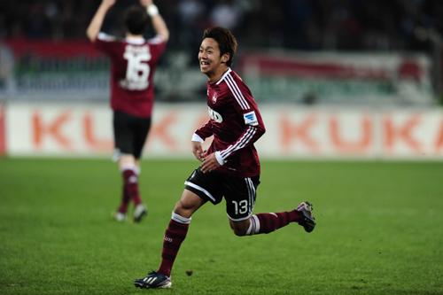 今季4ゴール目を挙げた清武に独紙がチーム2位タイの評価