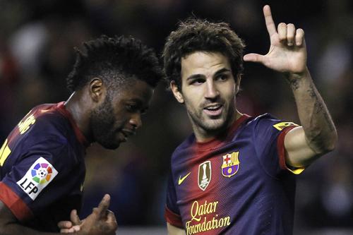 バルセロナのセスク「今までにないほど力がみなぎっている」