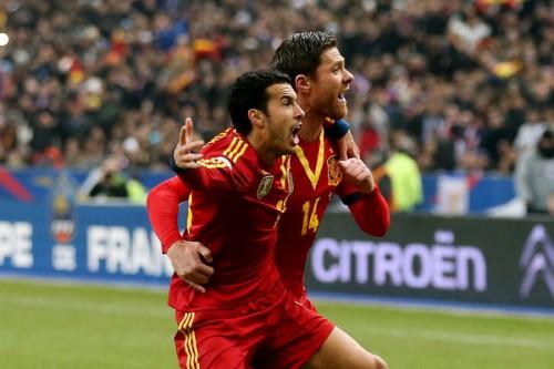 値千金ゴールのスペイン代表FWペドロ「この勝利の味は格別だ」