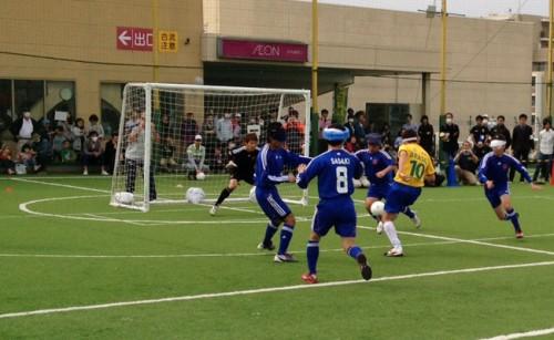ブラインドサッカー日本代表が世界最強のブラジルに惜敗