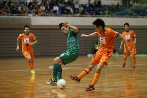 注目の大阪対フウガはドロー/PUMA CUP 2013