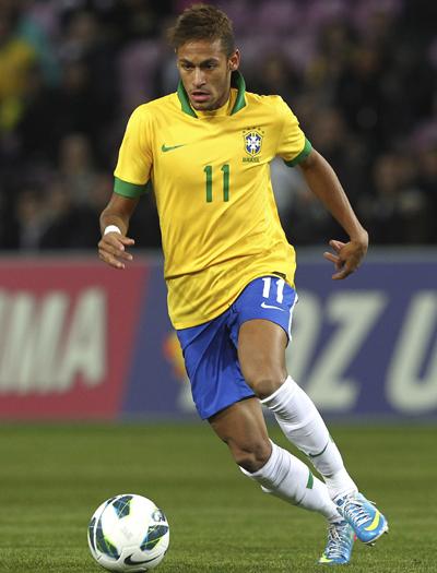 コンフェデに臨むブラジル代表発表…ロナウジーニョ、カカは外れる