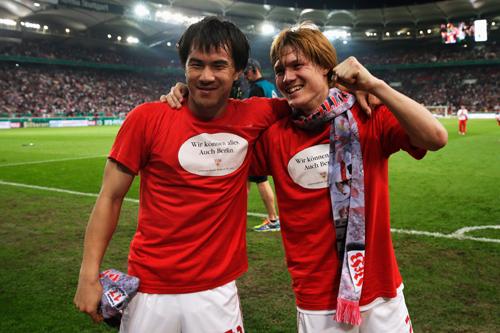 シュトゥットがドイツ杯決勝進出…酒井高フル出場、岡崎は途中出場