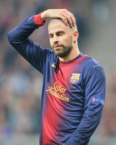 4失点喫したバルセロナのピケ「判定については話すべきでない」