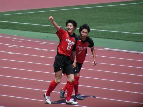 決定機を確実にモノにした駒澤大が快勝/関東大学リーグ