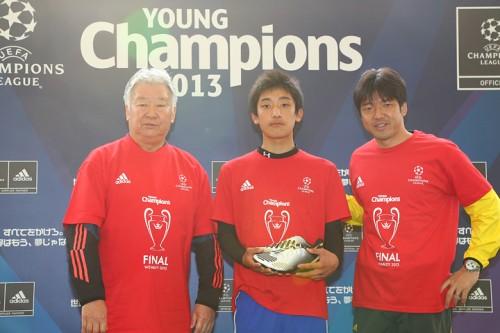 『adidas UEFAヤングチャンピオンズ2013』でJフィールド岡山の世界行きが決定