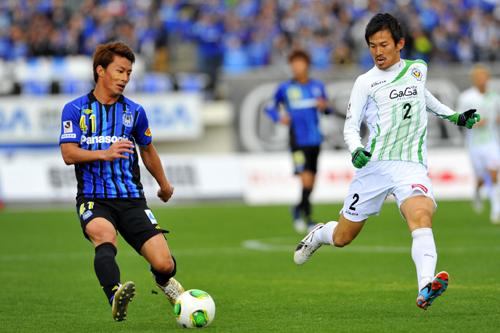 G大阪と東京Vの一戦は、互いに決め手を欠きドロー/J2第7節
