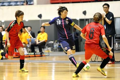 フットサル日本女子代表が国内で初強化試合…アジアインドアゲームズに向けて順調な仕上がり/フットサル日本女子代表