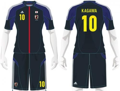 コンフェデ杯、日本代表はブラジルイメージの黄色を背番号で着用