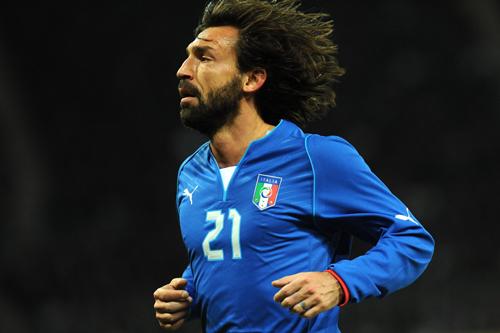 ピルロが2014年でイタリア代表引退へ「W杯が最後の舞台」