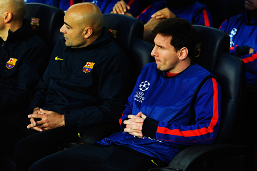 完敗のバルサ監督「チームの力になれないとメッシ自身が判断した」 | サッカーキング