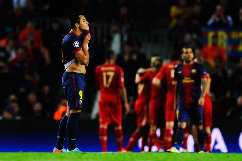 3失点完敗のバルセロナ、CLホーム無敗記録は21試合でストップ