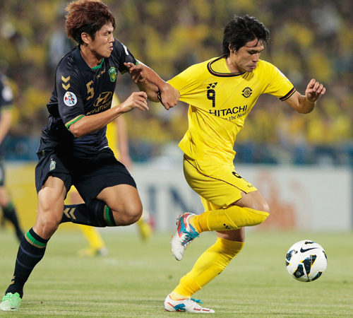 柏がACLでクラブ史上初のベスト8進出…韓国の全北現代に連勝