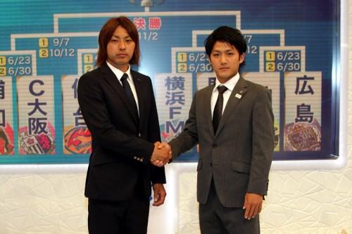 仙台の赤嶺「守備をしっかりと」、川崎の大島「タイトルを取りたい」/ナビスコ杯