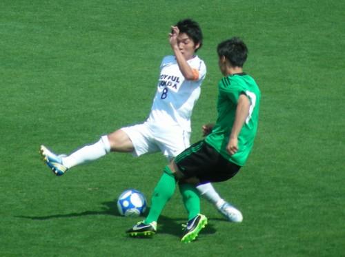 立て続けの2ゴールで専修大が逆転勝利、首位キープ/関東大学リーグ
