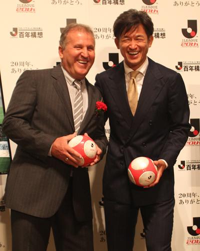 ジーコが絶賛「日本サッカーの進化はカズから始まった」