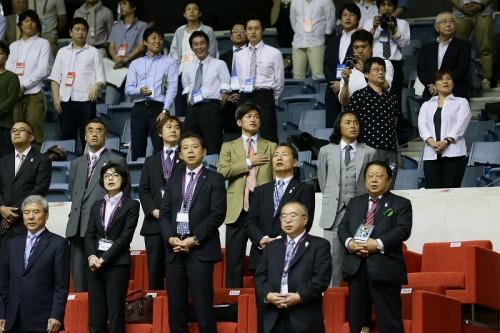 フットサル日本代表戦に訪れたカズ「やりたくなります、やっぱり」