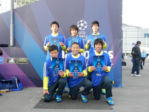 『adidas UEFA YOUNG CHAMPIONS』で、Jフィールド岡山が世界の舞台を体験