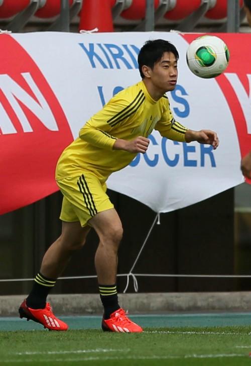 日本代表の香川真司「ゴールに直結するプレーをするだけ」