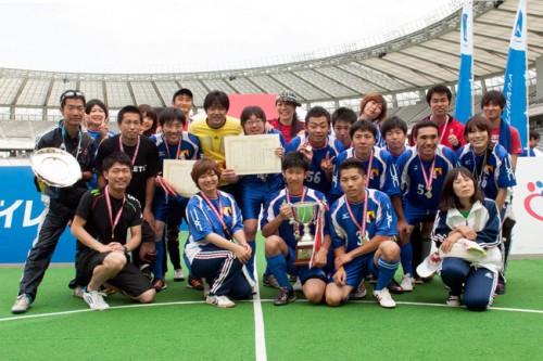 ブラインドサッカー日本選手権が開催、Avanzareつくばが優勝を遂げる