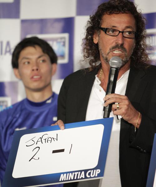 ラモスが日本代表の豪戦勝利を予想「吉田と前田が得点して2-1」